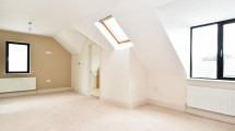 17 attic bedroom